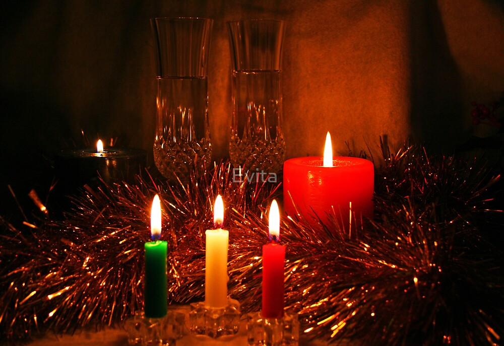 Candlelight and Wine by Evita