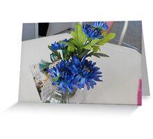 Bundle of Blue Greeting Card