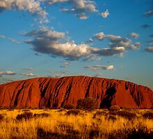 Sunset over Uluru (Ayers Rock) by Grace Leung