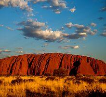 Sunset over Uluru (Ayers Rock) by Grace Leung