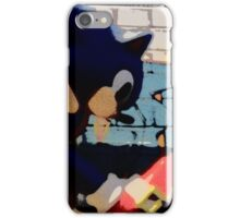 Sonic in the streets iPhone Case/Skin