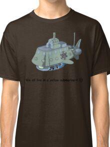 The Heart Pirate's Ship Classic T-Shirt