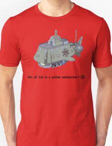 The Heart Pirate's Ship Unisex T-Shirt
