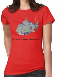 The Heart Pirate's Ship Womens Fitted T-Shirt