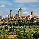 San Gimignano by Kurt  Tutschek