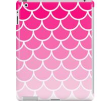Ombre Fish Scale In Strawberry iPad Case/Skin