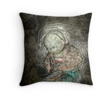 The Cobbler's Elf Throw Pillow