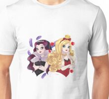 Ever After High - Apple White and Raven Queen Unisex T-Shirt