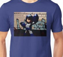 Mega man in the streets Unisex T-Shirt