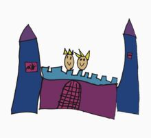 Castle - King & Queen Tee (Issy age 5) by jeciaissy