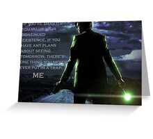 Doctor Who Trap Greeting Card