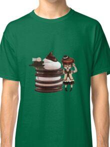 Chocolate Nerd Classic T-Shirt