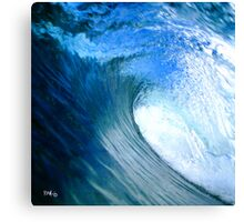 Blue Tube! Canvas Print