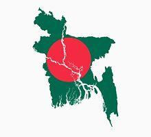 Flag Map of Bangladesh  Unisex T-Shirt