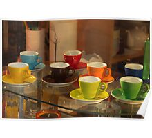 Multi-Coloured Espresso Poster
