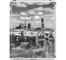 The Old Lumber Mill BW iPad Case/Skin