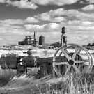 The Old Lumber Mill BW by James Eddy