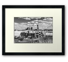 The Old Lumber Mill BW Framed Print