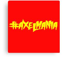 #AxelMania Canvas Print