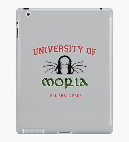 UNIVERSITY OF MORIA  iPad Case/Skin