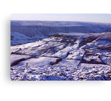 Views of the North Yorks Moors National Park #3 Canvas Print