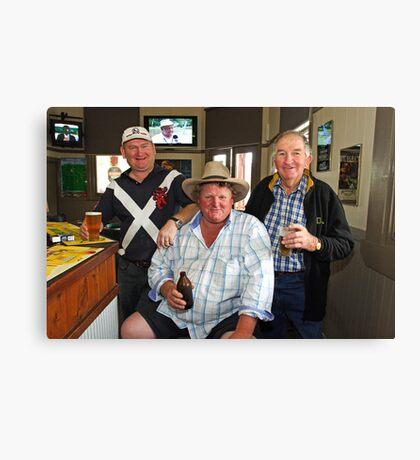 Bobby O'Brien, Nobby McMahon & Kevin Slater Canvas Print