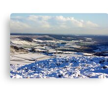 Views of the North Yorks Moors National Park #6 Canvas Print