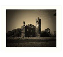 Dark Gothic  Art Print