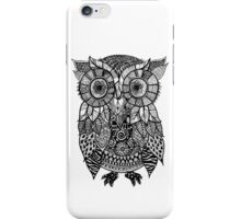 Zentangle Owl iPhone Case/Skin