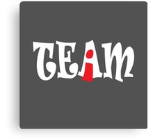 I IN TEAM Canvas Print