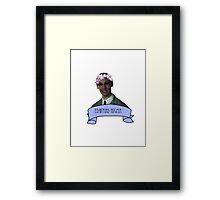 Edward Nigma- Gotham Framed Print