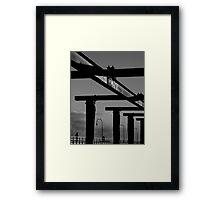 Girder Framed Print