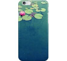 Lily Pond Blues iPhone Case/Skin