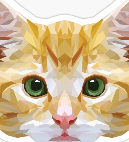 Crystalline Cat Sticker