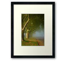 The fair luminous mist ... Framed Print