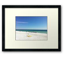 Stunning Destin / 30A beach scene (Florida) Framed Print