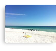 Stunning Destin / 30A beach scene (Florida) Canvas Print