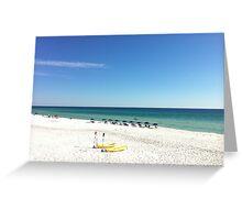 Stunning Destin / 30A beach scene (Florida) Greeting Card