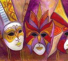 Carnival Masks by AandPFNHOLT