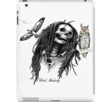 SKULL BIRD WATCHING iPad Case/Skin