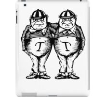 Tweede Dee and Tweedle Dum iPad Case/Skin