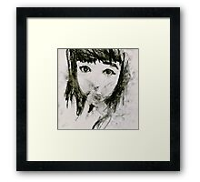 Girl #7 (2014) Framed Print