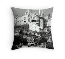 ST.Michael's Mount Throw Pillow