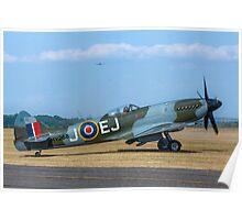 Supermarine Spitfire FR.XIVe MV293 G-SPIT Poster