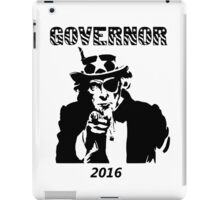 Governor For President iPad Case/Skin