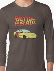 Back to the Future Saul Long Sleeve T-Shirt
