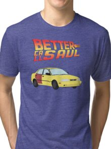 Back to the Future Saul Tri-blend T-Shirt