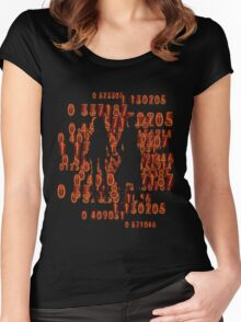 Chaos theory's Homeostasis Women's Fitted Scoop T-Shirt