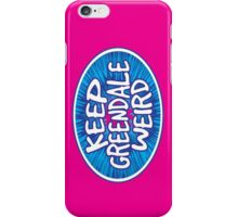 Keep Greendale Weird iPhone Case/Skin