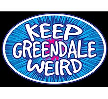 Keep Greendale Weird Photographic Print